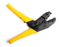 Crimper. Isolated over white background Stock Photography