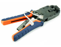 Crimper and short path cord Royalty Free Stock Photo