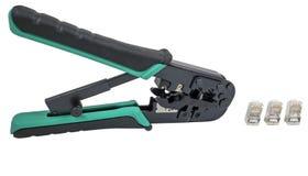 Crimping tool Royalty Free Stock Photo