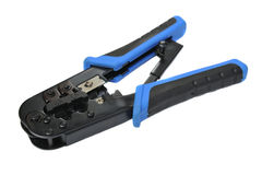 Crimping tool Royalty Free Stock Images