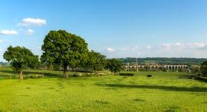 Crimple谷- Harrogate,北约克郡,英国 免版税库存图片