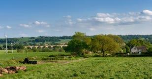 Crimple-Tal - Harrogate, North Yorkshire, Großbritannien Stockfotografie