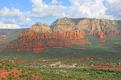 Crimson Cliffs of Sedona Royalty Free Stock Photography