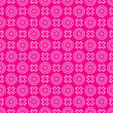 Crimson pattern with geometric elements - vector Stock Image