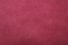 Crimson pink leather background Royalty Free Stock Photography