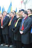 Crin Antonescu et amorces généreuses Images libres de droits