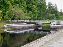Crinan运河 免版税库存图片