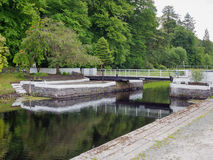 Crinan canal. Crinan boat canal, Scotland, UK Royalty Free Stock Image