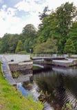 Crinan canal. Bridge on the Crinan canal, Scotland, UK Stock Photo