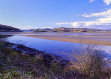 Crinan estuary reserve, Scotland Royalty Free Stock Image
