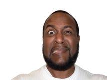 cringe expression facial funny shock στοκ φωτογραφία με δικαίωμα ελεύθερης χρήσης