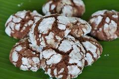 Crinkle σοκολάτας Στοκ Φωτογραφία
