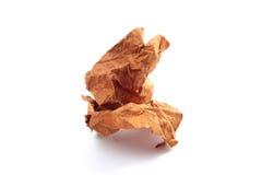 crinkled бумага Стоковые Фото