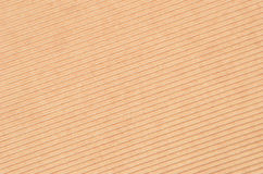 Crinkled cardboard background Stock Image