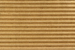 Crinkled cardboard texture Stock Image