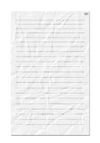 Crinkled paper Royalty Free Stock Images
