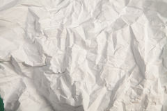 Crinkled paper Stock Images