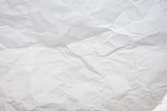 crinkled papper Royaltyfri Bild