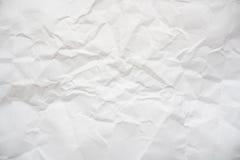 crinkled papper Arkivfoton