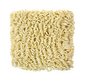 Crinkly Curly Noodles From Package Stock Photo