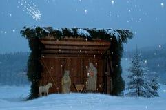 Crip de Noël Photographie stock libre de droits