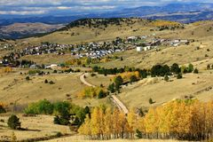 Cripple Creek Colorado old mining and gambling town Royalty Free Stock Photography
