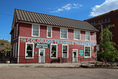 Cripple Creek District Museum Royalty Free Stock Photos