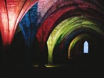 Cript del arco iris Imagen de archivo libre de regalías