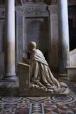 Cripta二圣热纳罗 图库摄影