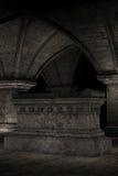 Cripta stock de ilustración
