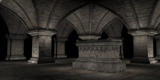 Cripta Fotografia Stock Libera da Diritti