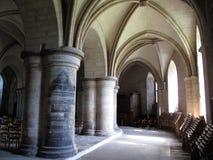 Cripta da catedral de Canterbury Foto de Stock