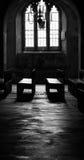 Cripta da catedral de Canterbury fotografia de stock