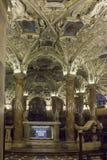 Cripta de Coro Jemale debajo de la catedral del Duomo de Milano Imagenes de archivo