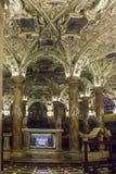 Cripta de Coro Jemale debajo de la catedral del Duomo de Milano, Imágenes de archivo libres de regalías