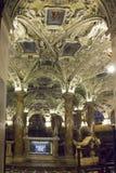 Cripta de Coro Jemale debajo de la catedral del Duomo de Milano Imagen de archivo