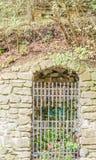 Cripta de la capilla de nuestra señora del baño en Castiglione Fiore Fotos de archivo libres de regalías
