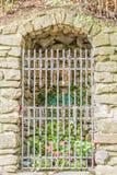 Cripta de la capilla de nuestra señora del baño en Castiglione Fiore Imagen de archivo