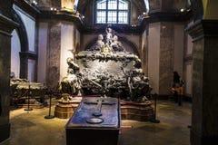 Cripta de los reyes de Habsburger en Viena fotografía de archivo libre de regalías