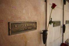Cripta de Marilyn Monroe fotografia de stock royalty free
