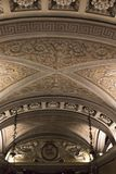 Cripta debajo de la catedral del Duomo Imagen de archivo