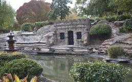 Cripta del entierro en Crystal Shrine Grotto foto de archivo libre de regalías