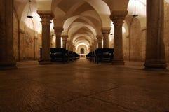 Cripta di San Nicola Fotografie Stock Libere da Diritti