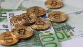 Cripto货币bitcoin 100欧元 股票视频