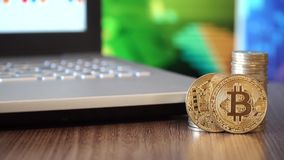 Cripto waluty Bitcoin monety zbiory