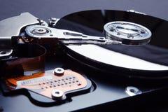 Criptografia de dados no disco rígido Proteção das informações pessoais no Internet imagens de stock