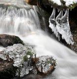 Crique d'hiver Image stock