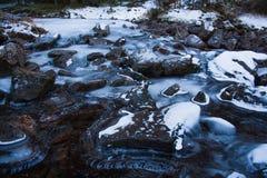 Crique d'hiver Images stock
