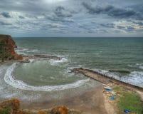 Crique de Bolata, Bulgarie Image libre de droits