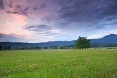 Crique de Cades au coucher du soleil Photos libres de droits
